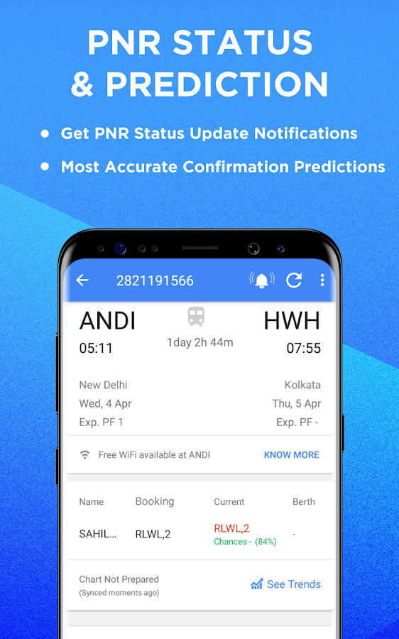 Irctc Train Booking Amp Indian Railway Pnr Status Android