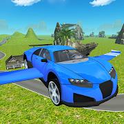 Flying SuperSport Car Sim 3D