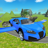 Flying SuperSport Car Sim 3D
