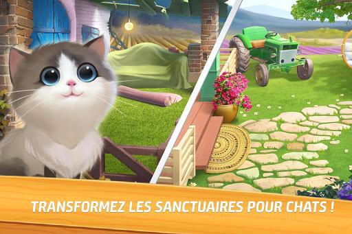 Miaou Match : Sage de Chat et Match 3 & Casse-Tu00eate captures d'u00e9cran 2