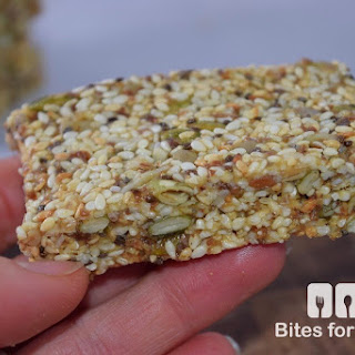 Chewy Sesame Seed Bars Recipe