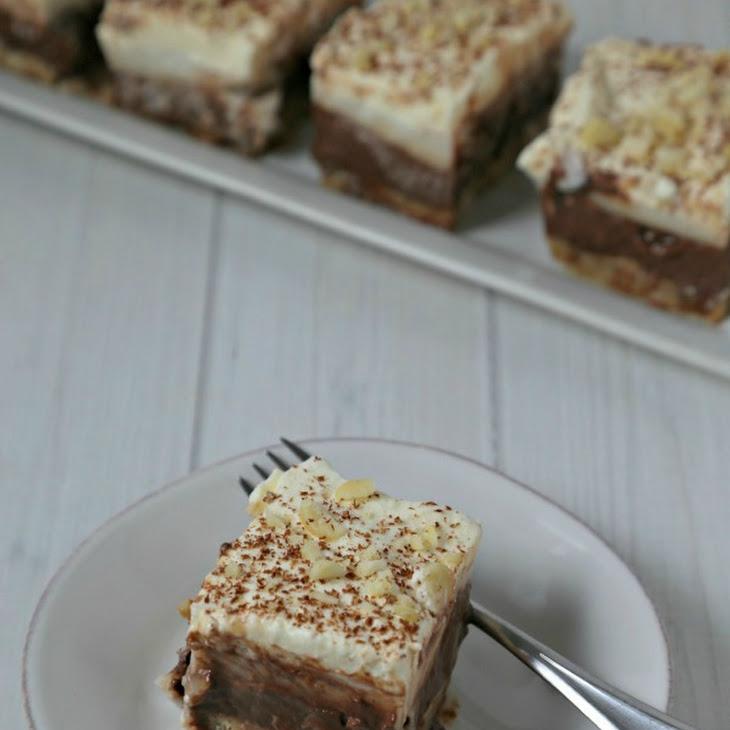 Chocolate Haupia Squares Recipe