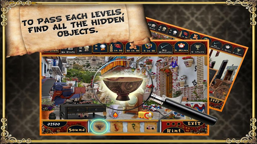 android Trip to Spain - Hidden Object Screenshot 1