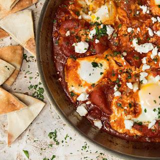 Eggs Poached in Tomato Sauce (Shakshuka)