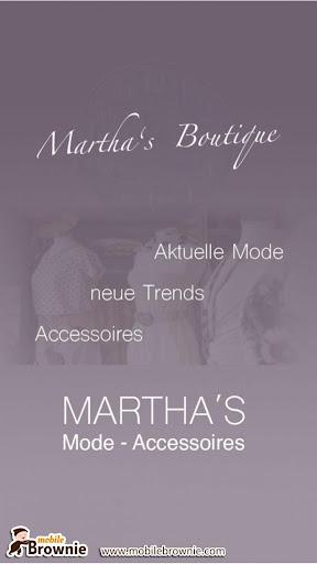Martha's Mode