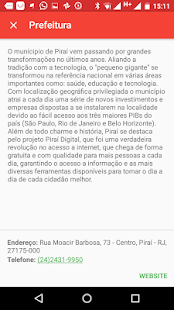 Piraí Mobile 3: miniatura da captura de tela
