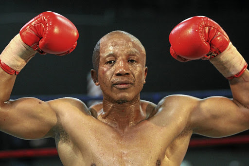 Pius Dipheko of Kagiso on the West Rand quit the ring in 2013 and is now training young boxers.