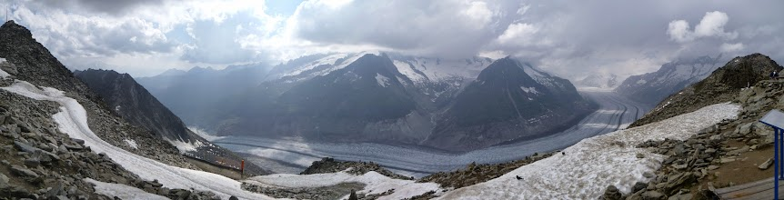 Photo: View from near Eggishorn