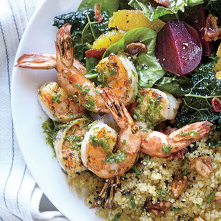 Pan-Seared Herb Shrimp
