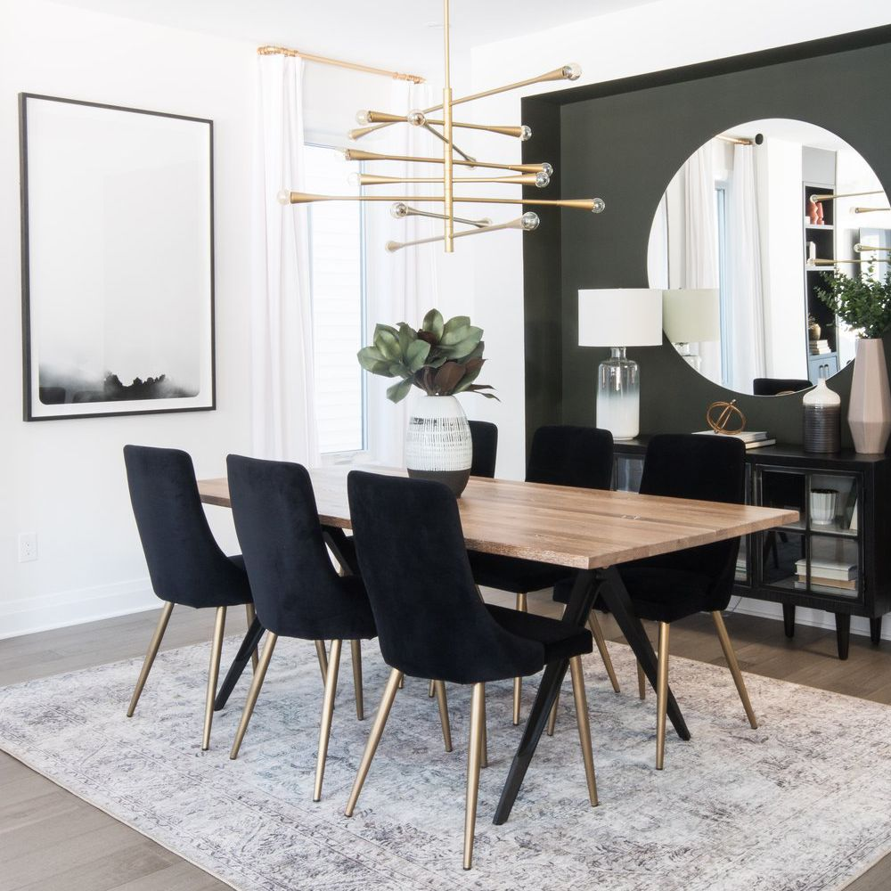 Modern Style for Your Dining Room Wall