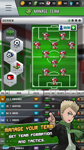 Soccer Strike Manager 1.5 gameplay | by HackJr.Pw 1