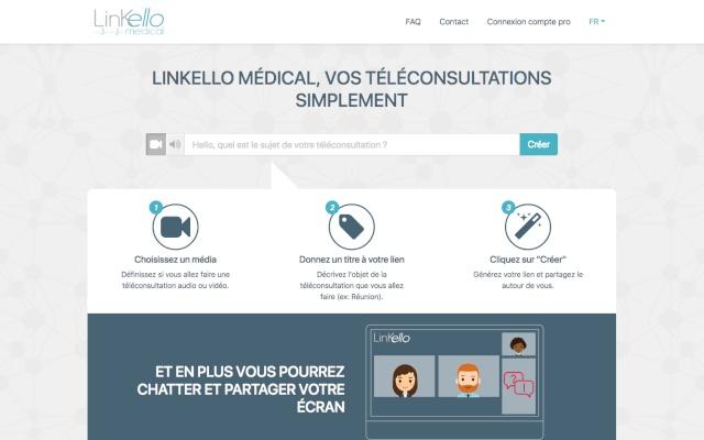 Linkello Médical - Partage d'écran