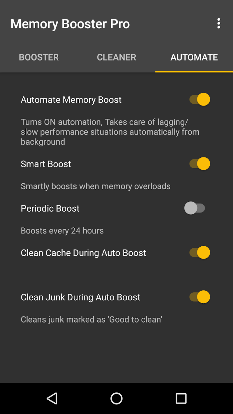 Memory Booster for Android Pro Screenshot 3
