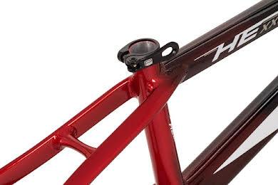 Radio Helium  BMX  Race Frame - Black and Red / Black alternate image 9