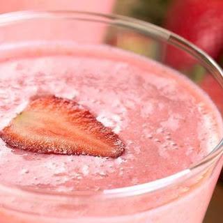 Strawberry Milkshake Smoothie.