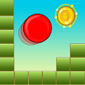 Red Bounce Classic Ball icon