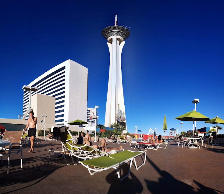 Las Vegas, piscina del hotel Stratosphere