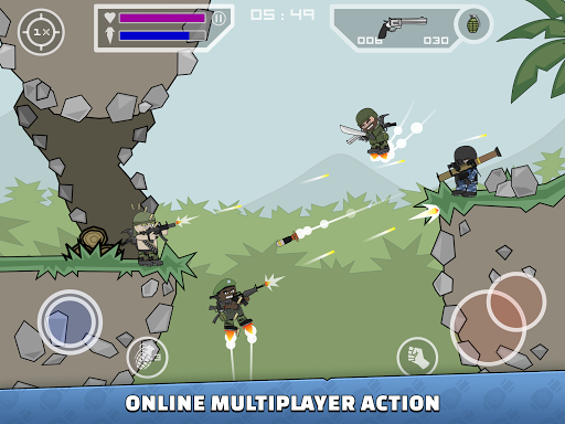 Mini Militia - Doodle Army 2 screenshot 7