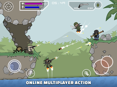 [Unlimited All] Download Mini Militia MOD Apk v5.0.6 [2020] 7