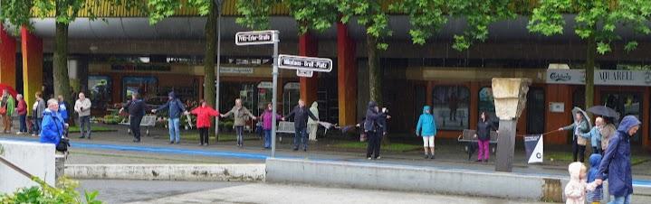 Garath tolerant und weltoffen/ Düsseldorf stellt sich quer