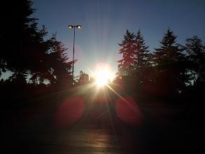Photo: Sun rise