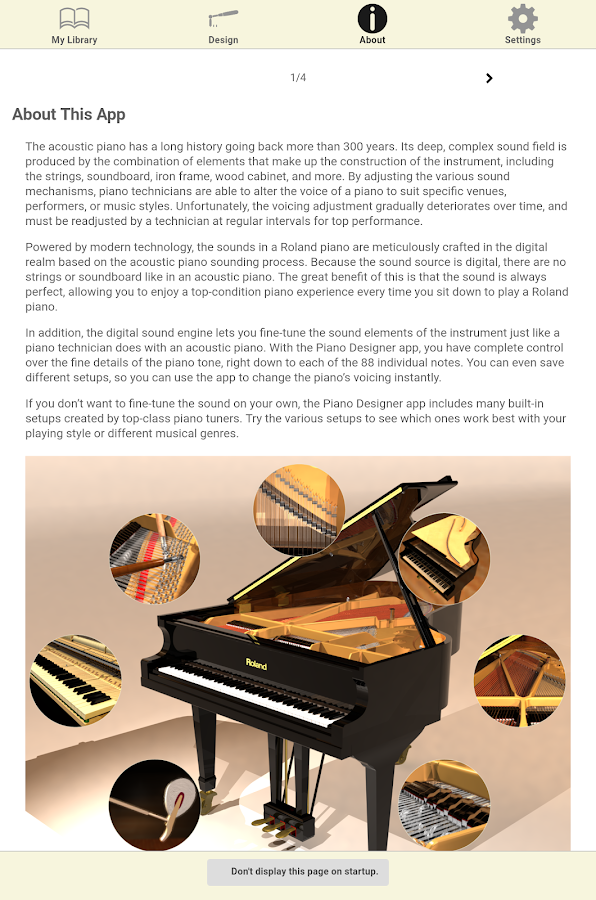 Piano Designer- screenshot