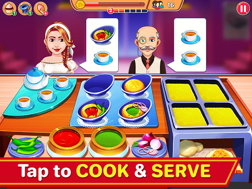 Indian Cooking Madness - Restaurant Cooking Games apkmr screenshots 11
