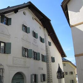Unterengandin, Guarda, Graubünden, Switzerland by Serguei Ouklonski - City,  Street & Park  Historic Districts ( street, europe, structure, building, architecture )