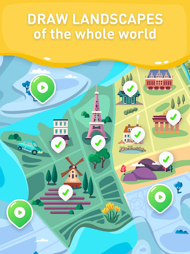 Paint the world - color by number colouring game apkdebit screenshots 14