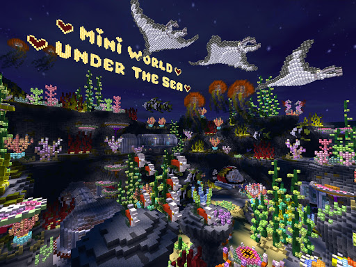 Mini World: Block Art android2mod screenshots 18