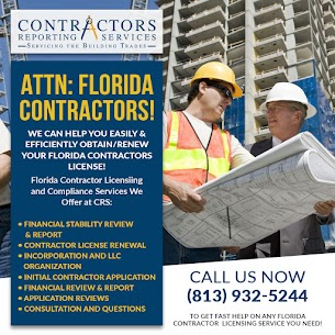 Tampa Florida Contractor License