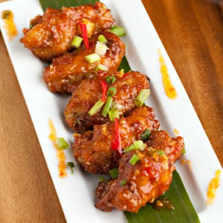 Sweet and Hot Chicken Wings