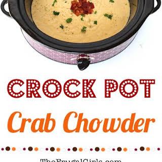 Crock Pot Crab Chowder.