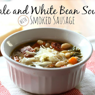 Kale and White Bean Soup with Smoked Sausage