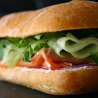The Ultimate Smoked Salmon Sandwich