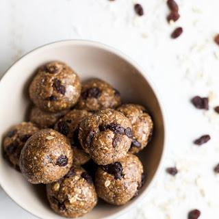 Oatmeal Cookie Energy Balls.