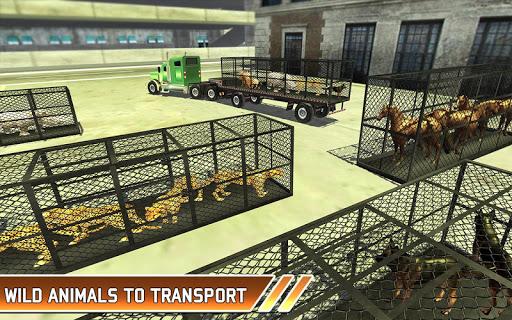 Zoo Animal Transport Truck 3D Airplane Transporter filehippodl screenshot 8