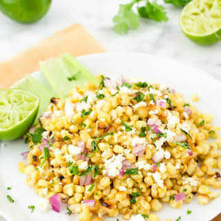 Grilled Mexican Street Corn Salad.