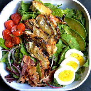 Grilled Honey Mustard Chicken Cobb Salad.