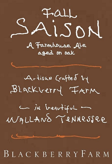 Logo of Blackberry Farm Fall Saison (2015)