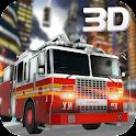 911 Emergency Fire Truck 3D icon