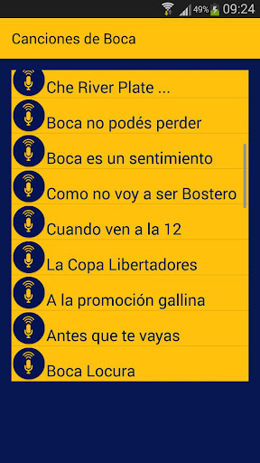 Foto do 35 Canciones de Boca Jrs, La 12 y La Mitad Mas Uno