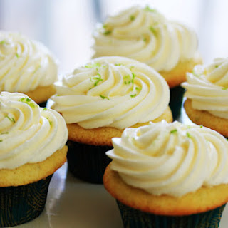 Tequila & Lime Cupcakes.