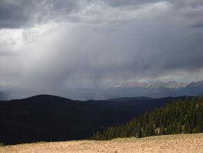 Photo: Storm back over Taylor Resevoir