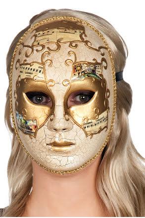 Venetiansk mask, dam
