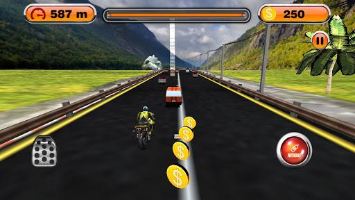摩托车 变速自行车 赛车手 Speed Moto Racer