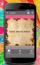 Crayon Name Maker - screenshot thumbnail 02