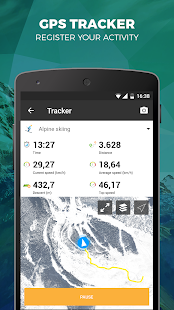 Skitude Ski & Outdoor Tracker- screenshot thumbnail