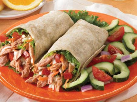 Spicy Tuna Wraps Recipe