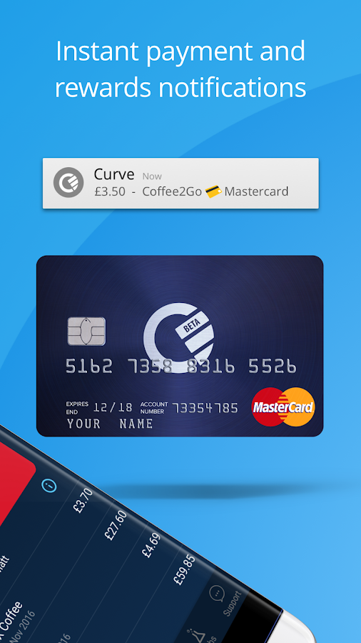 Curve - All Your Cards in One!- screenshot